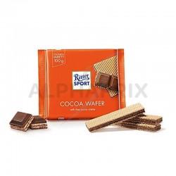 ~Ritter sport gaufrette de cacao 100g en stock