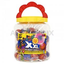 Sucettes Chupa XXL classique fourrées bubble gum en stock