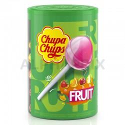 Sucettes Chupa Chups fruits par 100 en stock