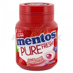 Mentos bottle pure fresh fraise s/sucre en stock