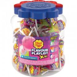 Sucettes Chupa XXL Playlist Gum en stock