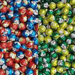 Boules de Noël chocolat vrac kg