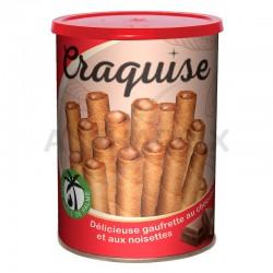 Gaufrettes craquise chocolat noisettes 400g en stock