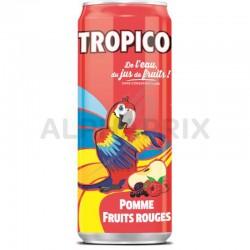 Tropico pomme fruits rouges slim boîte 33 cl en stock