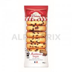 Madeleines Longues Raisins 250g La Trinitaine en stock