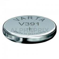 Piles montre 391 -sr55- en boîte de 10....Varta en stock