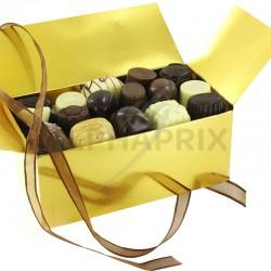 Ballotin chocolats belges luxe - 750g en stock