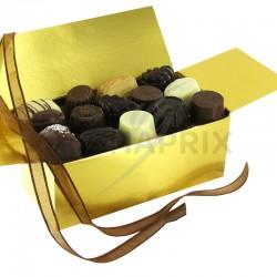 Ballotin chocolats belges luxe - 500g en stock