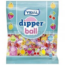 Bonbons tendres fruits coeur liquide 900g Dipper Ball Vidal en stock