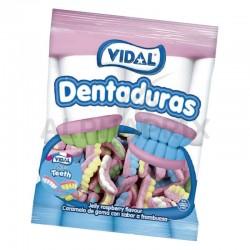 """Dentiers Smile acide FOAM """"Dentaduras"""" 250 pièces en stock"""