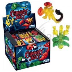 Creepy jelly - insectes gélifiés Vidal en stock