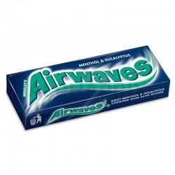 Freedent Airwawes dragée eucalyptus (bleu et blanc) en stock