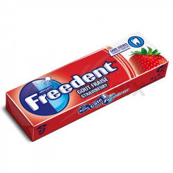 Freedent dragée fraise en stock