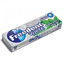 Freedent dragée white menthe verte en stock
