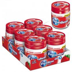 Box freedent fraise 60 dragées - 84g en stock