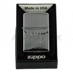 Zippo 250 carton corner floral en stock