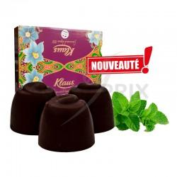 Boules Noir fourrées crème Menthe poivrée Klaus en stock