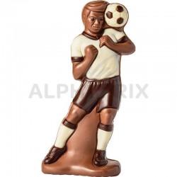 Footballeur moulage 100g en stock