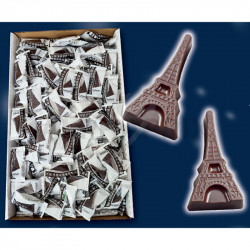 Tour Eiffel chocolat noir GUYAUX en stock