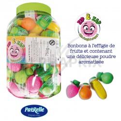 Top fruits poudre zip zap en tubo de 75 en stock
