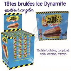 Sucettes à congeler têtes brûlées Ice Dynamite - BOX complet en stock