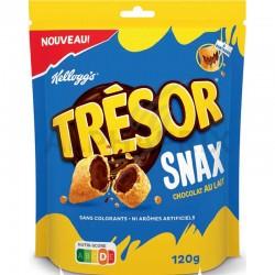 Kellogg's Trésor Snax chocolat lait 120g en stock