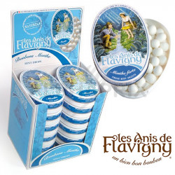Flavigny menthe - boîte fer collection