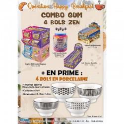 """Combo gum """"4 bols zen"""" en stock"""