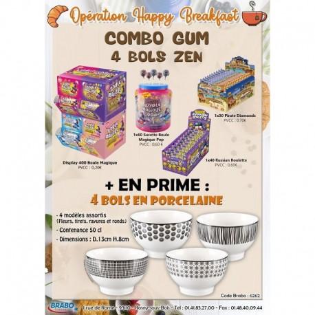 """Combo gum """"4 bols zen"""""""