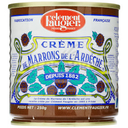 Crème de marron 250g Clément Faugier 1/4 en stock
