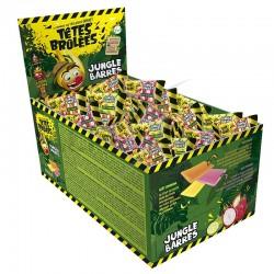 Display Têtes brûlées Mini Barres Jungle en stock