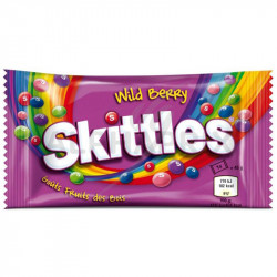 Skittles Wild berry 45g en stock