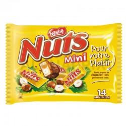 Nuts mini sachet 332g en stock