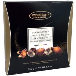 Fruits de mer pralinés boite Elégance 250g Excelcium