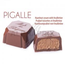 ~Chocolat lait praliné noisettes feuilletine vrac en stock