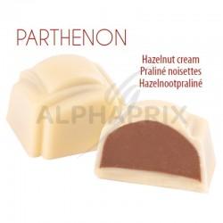 ~Chocolat blanc praliné noisettes vrac en stock
