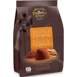 Mini truffes éclats de caramel au beurre salé 150g en stock