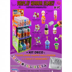 Display Horror Family 56 uvc