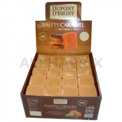 Caramels palets noisettes Dupont d'Isigny en stock
