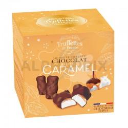 Ballotin 170g oursons guimauve choc noir caramel en stock