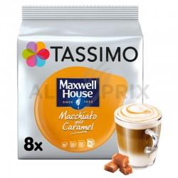Tassimo Maxwell House Macchiatto goût caramel 268g (8+8t) en stock