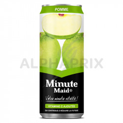 Minute Maid Pomme boîte slim can 33 cl