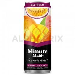 Minute Maid Multifruits boîte slim 33cl en stock