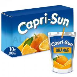 Capri-Sun Orange poche 20cl en stock