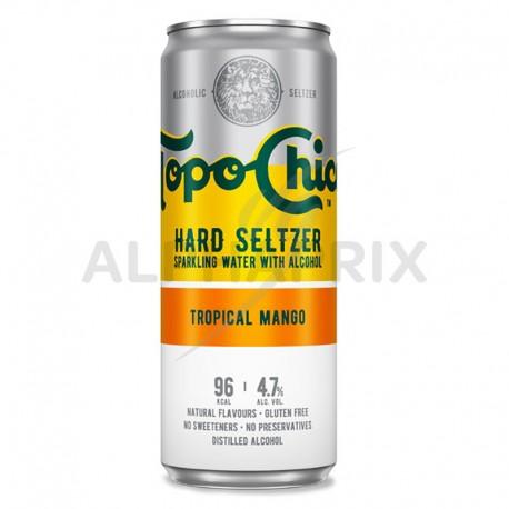 Topo Chico Tropical Mango boîte 33cl Hard Seltzer