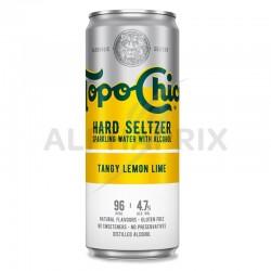 Topo Chico Tangy Lemon Lime boite 33 cl Hard Seltzer en stock