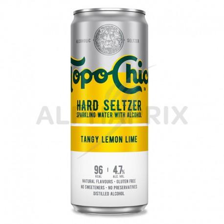 Topo Chico Tangy Lemon Lime boite 33 cl Hard Seltzer