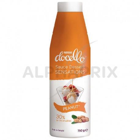 Docello Sauce Sensation Peanut (cacahuètes) Bouteille 750g