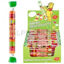 Haribo mega roulettes fizz acide 45g