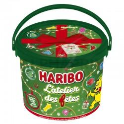 Haribo seau mini sachets 760g Noël en stock